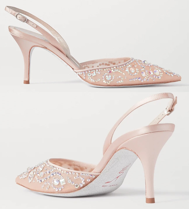 Rene Caovilla Crystal Shoes 2020. Luxury Mother of the Bride Shoes 2020. Mother of the Bride Outfits 2020. Spring Wedding Mother of the Bride Shoes 2021. Mother of the Groom outfits Spring 2021. Rene Caovilla Designer Shoes 2020. Blush Pink Mother of the Bride Shoes 2020. Rene Caovilla Veneziana Shoes