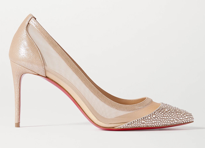 Christian Loboutin Galativi Shoes 2021. Christian Louboutin Champagne Gold Shoes 2021. Luxury Mother of the Bride Shoes 2021. Spring Mother of the Bride Outfits 2021, Mother of the Groom outfits Spring 2021. Christian Louboutin Designer shoes 2021. The Best Mother of the Bride Shoes 2021. Spring Wedding Bridal Shoes 2021.