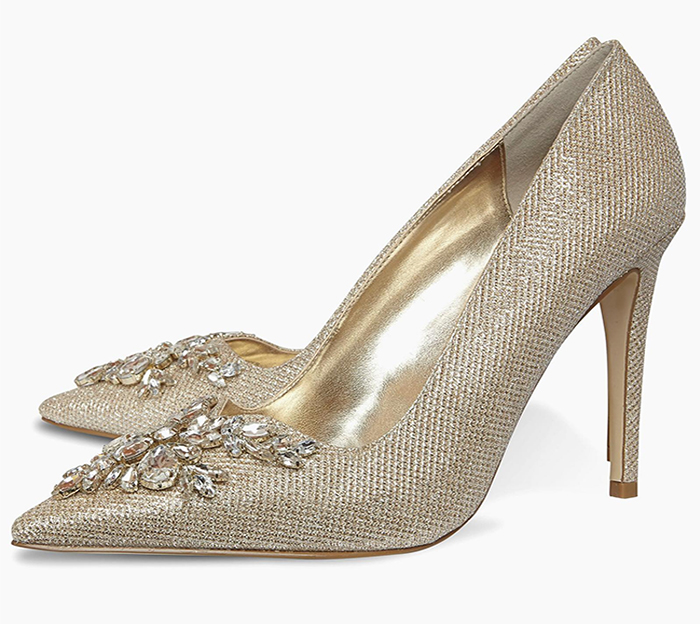 Dune Gold Shoes 2020. Gold Wedding Guest Outfits 2020. Wedding Guest Outfits Ladies 2020. Mother of the Bride outfits 2020. Gold Mother of the Bride Shoes 2020. Gold Mother of the Bride Outfit Ideas 2020. Mother of the Groom Outfits 2020. Mother of the Groom Shoes 2020.