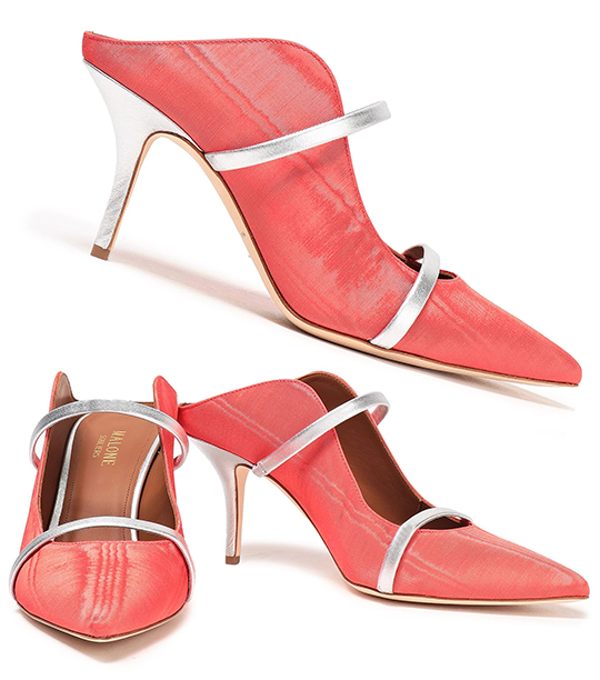 Coral Shoes. Mother of the Bride Shoes. Coral Mother of the Bride Outfits. Medium Heel Mother of the Bride Shoes. Pantone Living Coral Color of the Year. Mother of the Groom Outfits. Coral Mother of the Bride Shoes. Coral Outfits. Malone Souliers Shoes