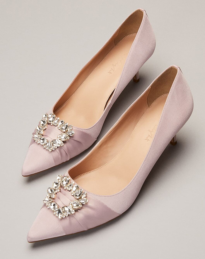 Pink Mother of the Bride Shoes 2021. Pink Kitten Heel Shoes 2021. Pink shoes for Mother of the Bride 2021. Pink Mother of the Bride Outfits 2021, Pink Mother of the Groom Outfits, Wedding Shoes for Mother of the Bride 2021. Summer Wedding outfit ideas 2021