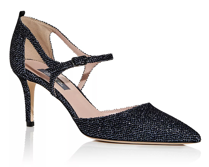 Navy Sparkly Shoes for Mother of the Bride 2021. Sarah Jessica Parker Navy Shoes 2021. Mother of the Bride Navy Shoes. Navy Mother of the Bride outfits 2021. Navy Mother of the Bride Shoes 2021. SJP Navy Glitter Shoes. Navy Mother of the Groom Shoes 2021. Navy Evening Shoes USA 2021. Mother of the Groom outfits 2021.