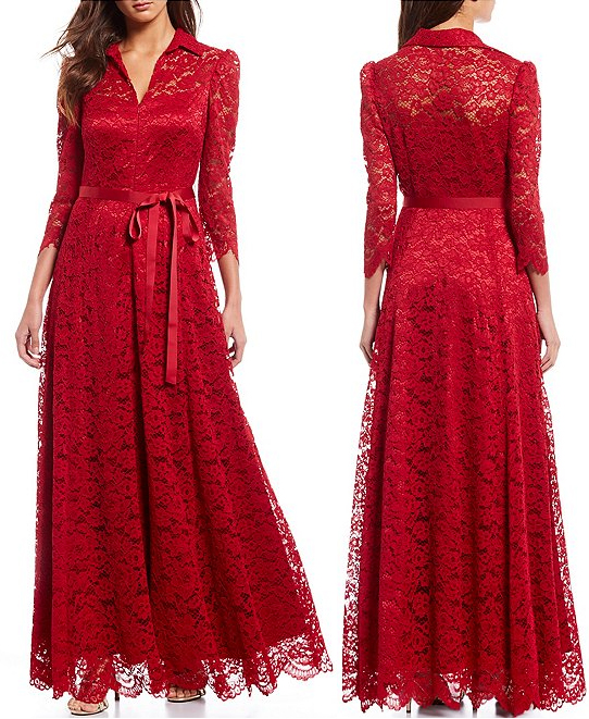 Christmas Wedding Guest Outfit ideas 2020. Christmas Wedding Mother of the Bride Dress 2020. Red Lace Dress for Winter Mother of the Bride. Winter Mother of the Bride dresses. Winter Wedding Guest outfit ideas 2020. Cold weather Mother of the Bride outfits.