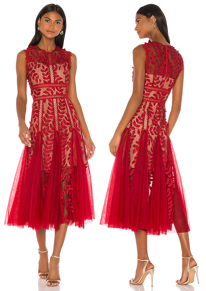 Bronx and Banco Lace Floral Dress. Red Dress for Royal Ascot. Best Lace dresses. Dress. Floral dress for a Spring Wedding. What to wear for Royal Ascot 2020. Floral Dress for the Races. Royal Ascot Dresses 2020. Royal Ascot Dress Code