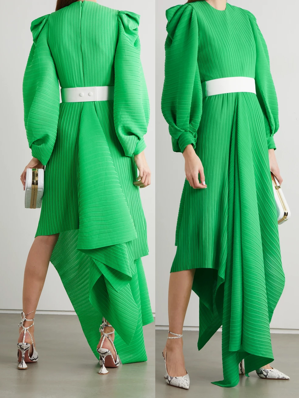 Solace London Green Dress 2021. Emerald Green Dress 2021. Green Dress for Royal Ascot 2021. What to wear for Royal Ascot 2021. What to wear to Royal Ascot Races 2021. Royal Ascot Outfits 2021. Ascot Outfit Ideas 2021. Summer wedding guest outfit ideas 2021.