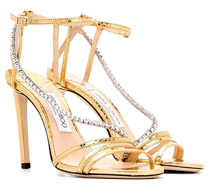 Jimmy Choo High Heel Gold Shoes 2020. Jimmy Choo Designer Shoes 2020. Jimmy Choo Bridal Shoes 2020. Gold High Heel Bridal Shoes 2020. Bridal Shoes in Gold 2020. Luxury Wedding Shoes 2020. Designer Bridal Shoes 2020.