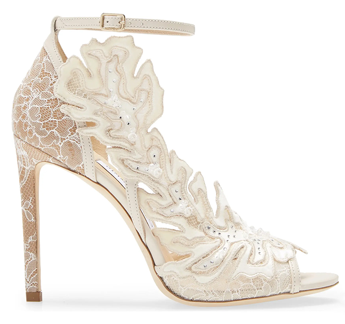 Jimmy Choo Bridal Shoes. Jimmy Choo Lace Shoes. Jimmy Choo Lucele Shoes. Crystal Bridal Shoes for 2021 Wedding. Bridal Shoes for Spring Summer 2021. High Heel Bridal Shoes. Designer Bridal Shoes. Luxury Wedding Shoes. Luxury Bridal Shoes.