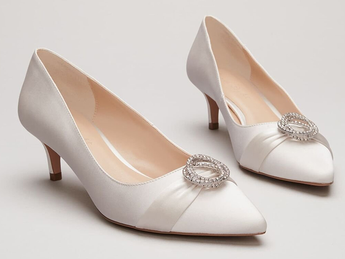 Ivory Bridal Shoes 2020. Ivory Crystal Shoes 2020. Ivory Low Heel Bridal Shoes 2020. Cheap Bridal Shoes 2020. Bridal Shoes under £100.00 for 2020. Bridal shoes for Autumn 2020. Cheap Low Heel Bridal Shoes 2020. Bridal Shoes with Crystals 2020. Cheap Bridesmaids Shoes 2020. Winter Wedding ideas 2020.