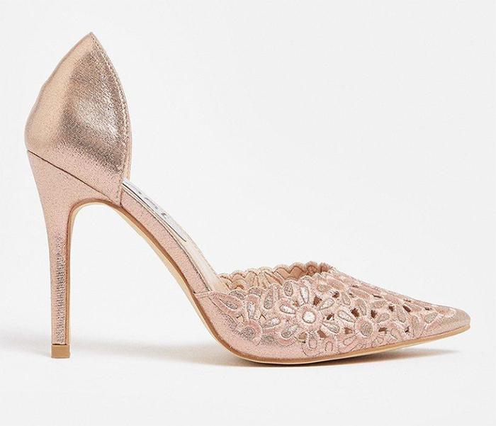 Rose Gold Bridal Shoes 2020. Rose Gold Bridesmaids Shoes 2020. Cheap Bridesmaids Shoes 2020. Bridesmaids Shoes under £100.00. Bridesmaids shoes for an Autumn wedding. Summer Wedding ideas 2020.