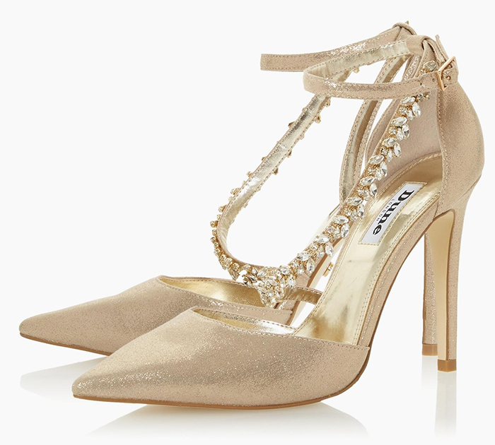 Champagne Gold Bridesmaids Shoes 2020. Autumn Wedding Bridesmaids Shoes 2020, Bridesmaids shoes with Crystals 2020. Best Bridesmaids Shoes 2020. High Heel Bridesmaids Shoes 2020. Champagne Gold Shoes 2020.