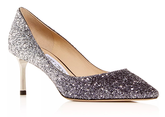 Jimmy Choo Glitter Shoes 2019. Jimmy Choo Bridal Shoes 2019. Medium Heel Bridesmaids Shoes. Glitter Bridesmaids Shoes. Bridal shoes with Glitter. Designer Bridesmaids Shoes. Luxury Wedding Shoes. Luxury Bridal Shoes.