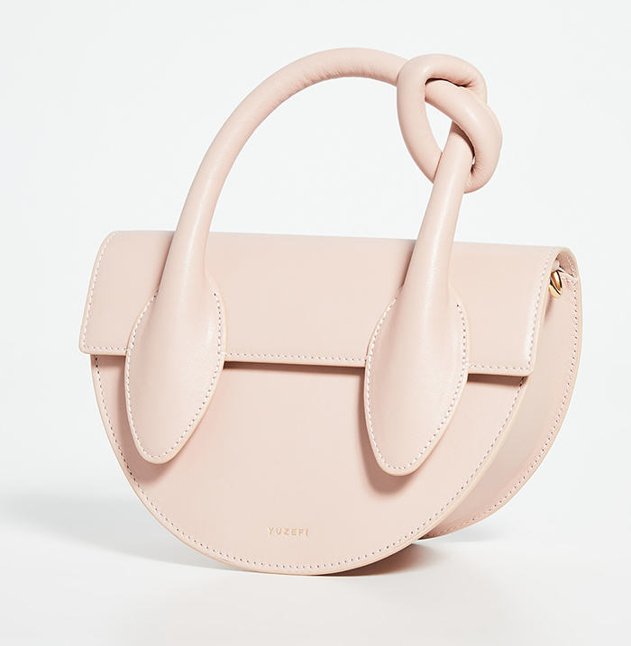 Bags by New Designer Yuzefi 2020. Yuzefi Bags 2020. Blush Pink Bag for the races 2020. Blush Pink Clutch Bags 2020. Blush Pink Mother of the Bride Bag 2020. What bags to use for a day at the races 2020.