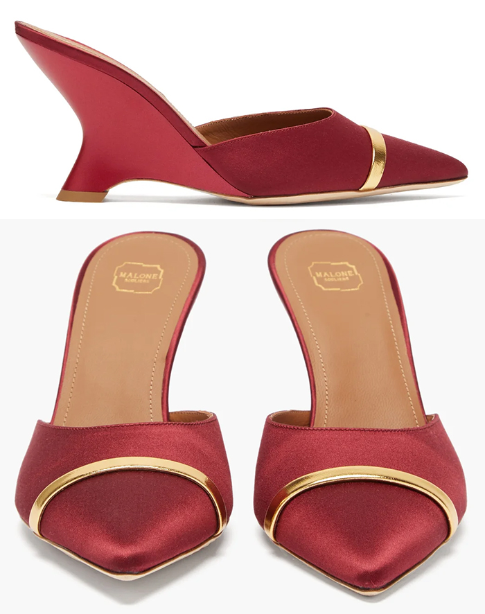 Burgundy Red Wedge Shoes 2020. What to wear for an Autumn wedding 2020. Burgundy outfits for Autumn Wedding Guest 2020. Winter Wedding Guest Outfits 2020, Mother of the Groom outfits 2020. What to wear to a Fall wedding 2020. What to wear with a Burgundy Dress 2020. Autumn Fashion Ideas and Inspiration 2020.