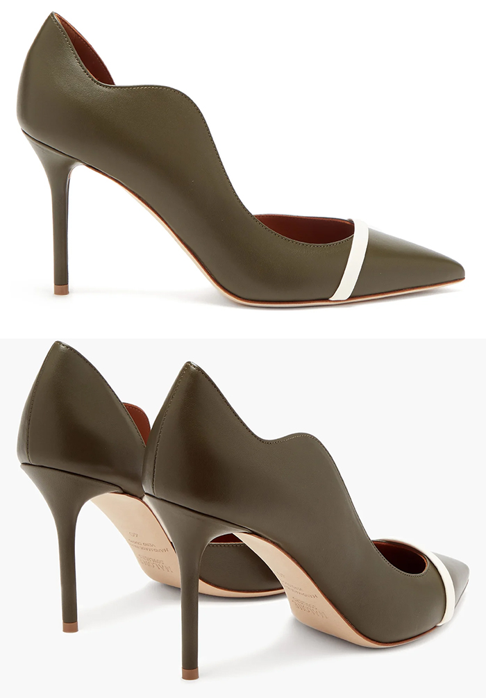 Olive Green Shoes 2020. What to wear for a Autumn Wedding 2020. Fall Wedding Guest Outfit ideas 2020. Fall Fashion Shoes 2020. Malone Souliers Shoes 2020. What to wear with an Olive Green Dress 2020. Winter Mother of the Bride Outfits 2020.