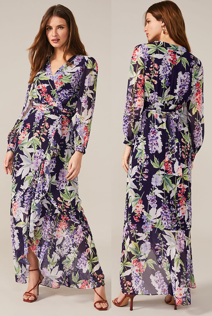 Phase Eight Floral Dress 2020. What to wear for an Autumn wedding 2020, Ladies outfits for Autumn Weddings 2020. Womens Autumn Wedding Guest Outfits 2020, Mother of the Groom outfits 2020. Floral Autumn dresses 2020. Autumn Fashion Ideas and Inspiration 2020. Floral Maxi Dress 2020. Floral Midi Dress 2020.