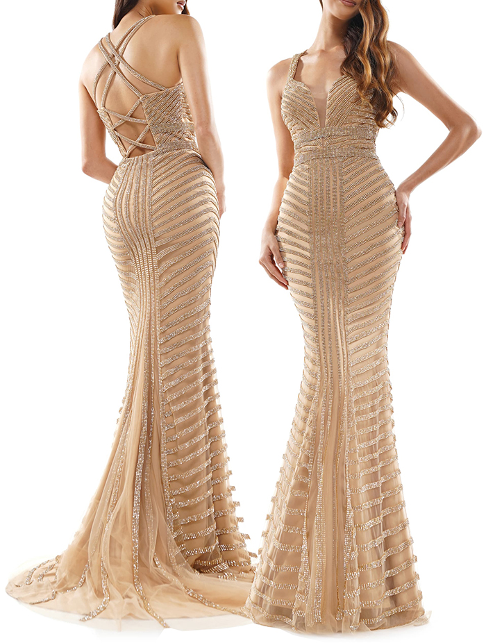 Long 1920s inspired Dress. Art Deco Dresses. Art Deco Inspired Fashion. What to wear for a Gatsby Theme Party 2020. What to wear for 1920s Theme Party. Vintage Theme Beaded Dresses 2020. Luxury Beaded Evening Dresses 2020