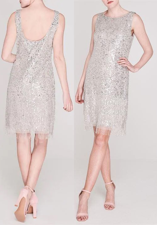 Flapper Dress. Best Flapper Dresses 2019. The Best 20s theme Dresses. Best 1920s Sequin Dresses. Great Gatsby theme dresses. New Years Eve Party Dresses 2019. 1920s Ladies Fashion. Long Art Deco Period Dresses. What to wear to a 1920s theme party.