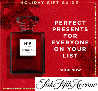 Saks Fifth Avenue Christmas Gift Guide. Christmas Gift Guise 2019. Gifts for Mum. Saks Fifth Avenue Black Friday Sale. Black Friday Deals 2019. Christmas Gifts for Saks Fifth Avenue