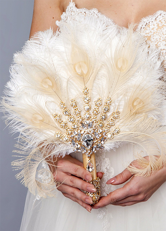Peacock and Crystals Bridal Fan. What to wear to a Gatsby Wedding. 1920's Wedding Guest Outfits. Flapper girls Outfits. Gatsby Halloween Party Outfits. What to wear to a 20's theme New Years Eve Party. Fashion Ideas and Inspiration. How to Wear 20's Fashion