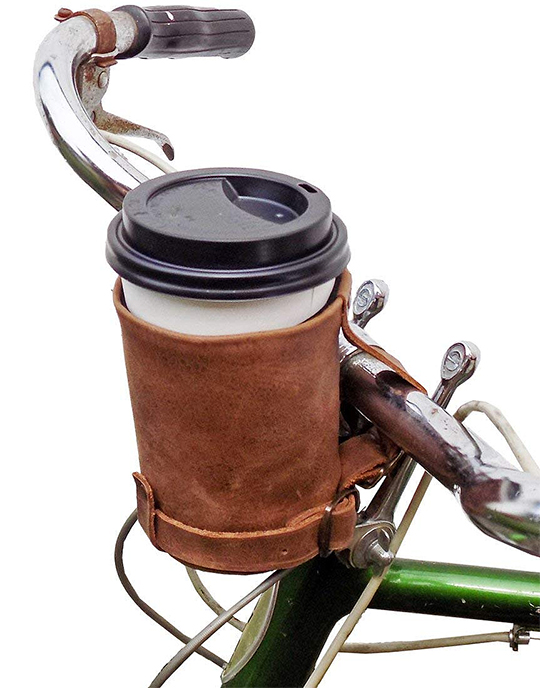 Coffee Cup Holder. Bike Coffee Cup Holder. Unique Gift ideas for dad. Christmas Gifts for Dad. Fathers Day Gifts.