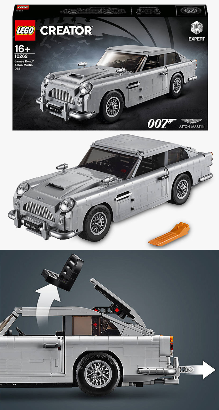 Lego Creator James Bond Aston Martin Car. James Bond Lego. Teenager Gift Ideas. Teenage Boy Gift Ideas 2020. Gifts for James Bond fans 2020. Lego Gift ideas 2020. Christmas Gifts for Dad 2020. Lego Christmas Gift Sets 2020.