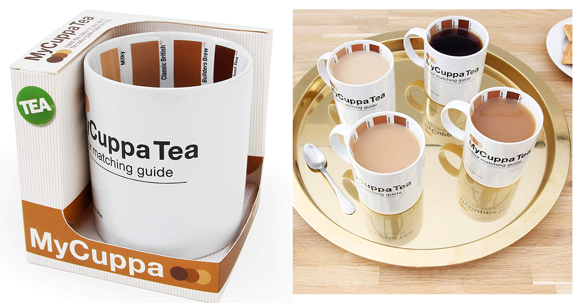 How do you like your tea. Remember how people have their tea. Tea colour matching guide, Secret Santa Gifts. Gifts for Her, Gift ideas for friends 2019. Secret Santa for Coworkers 2019. Secret Santa for Big Tea Drinker 2019. Christmas Gifts for Her. Christmas Gift Ideas. Secret Santa Gift ideas 2019.