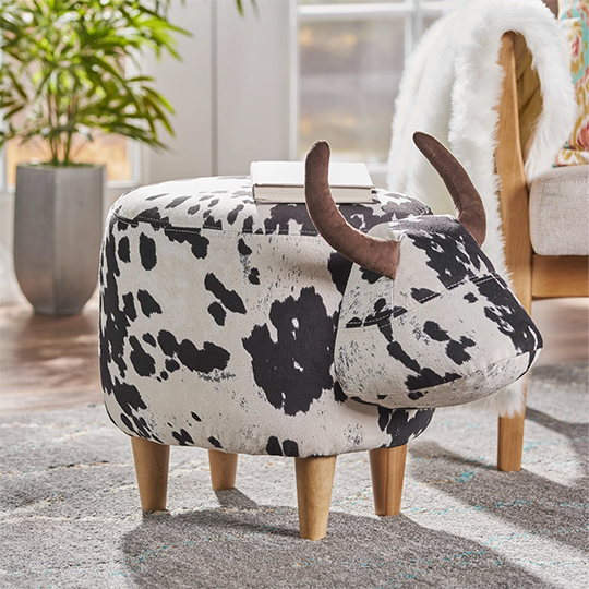 Fun Gift Ideas for Dad. Ox Foot Stool. Christmas Gifts for Dad 2020. Gifts for the Home 2020. Gift for new home owners. House Warming Gift ideas.