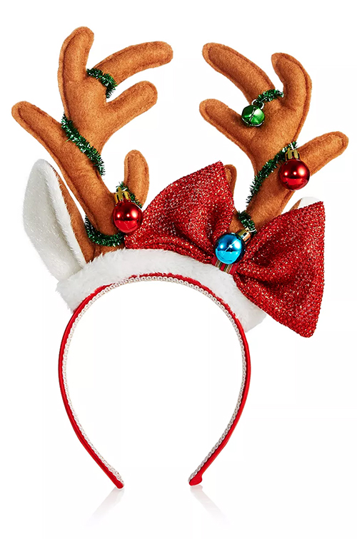Fun Padded Headbands. Festive Padded Headbands. Christmas Party Outfit ideas. Christmas Headbands. Autumn Winter Fashion Trends. What to wear to Christmas Party.
