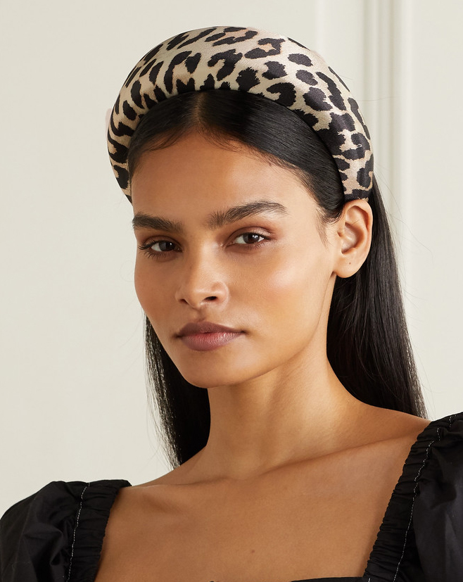 Leopard Print Headbands 2020, Padded Headbands Summer 2020, Summer 2020 Hair Accessories, Big Padded Headbands 2020. Oversize Headbands 2020, Chunky Leopard Print Headbands 2020. Summer Fashion Accessories 2020