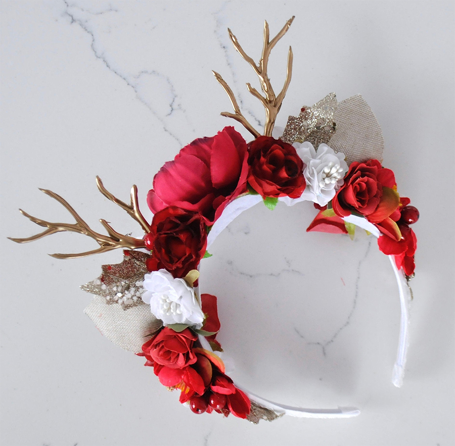 Christmas party Ideas  2020. Winter Embellished Headbands. Etsy Embellished Headbands. Christmas Day outfits. Christmas Party Outfits.