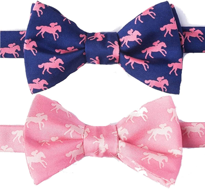 Bow Ties for Kentucky Derby 2021. Mens Outfit ideas for a Kentucky Derby Garden Party 2021. Mens outfits for a Kentucky Derby Street Party 2021. Mens Outfit ideas for Kentucky  Derby 2021. Gift ideas for Male Horse Racing fan 2021. Horse Racing Bow Tie 2021. What to wear to the Kentucky Oaks 2021. Mens Kentucky Oaks outfits 2021