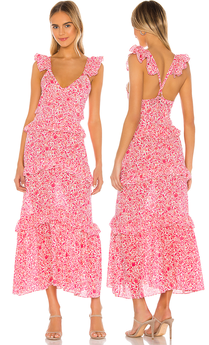 Coral Floral Dress for Spring Summer 2021. Floral outfits for Spring 2021. Dress for the Kentucky Derby 2021. Outfits for a Kentucky Derby Party 2020. Dress for Royal Ascot 2021. Dresses for a Spring Wedding Guest 2021. What to wear for the Races 2021. Outfit ideas for the Races 2021. Kentucky Derby Outfit ideas 2021. Summer Wedding Guest outfit ideas 2021.