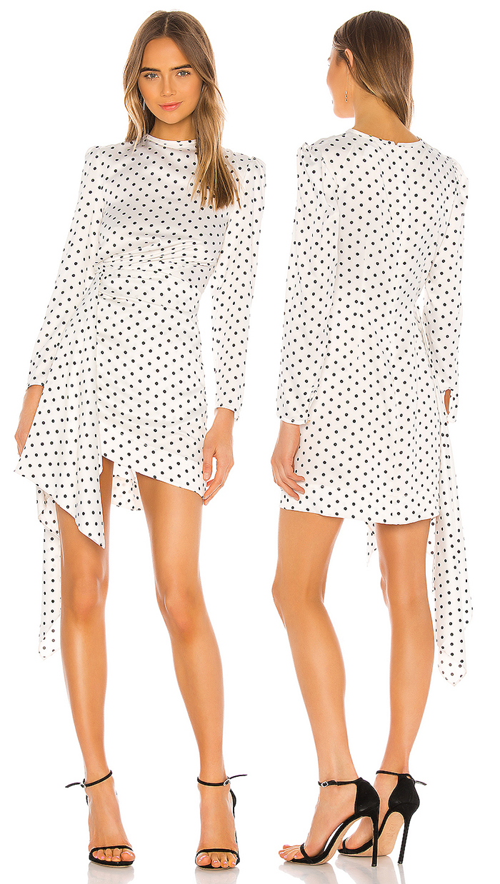 Polka Dot Mini Dress 2020. Polka Dot Dress for the Kentucky Derby 2020. Best Polka Dot Dresses 2020. What to wear to the Kentucky Derby 2020. Kentucky Derby outfit ideas 2020. Dresses for Ladies Day at the Races 2020. Mid Price Dresses for the Kentucky Derby