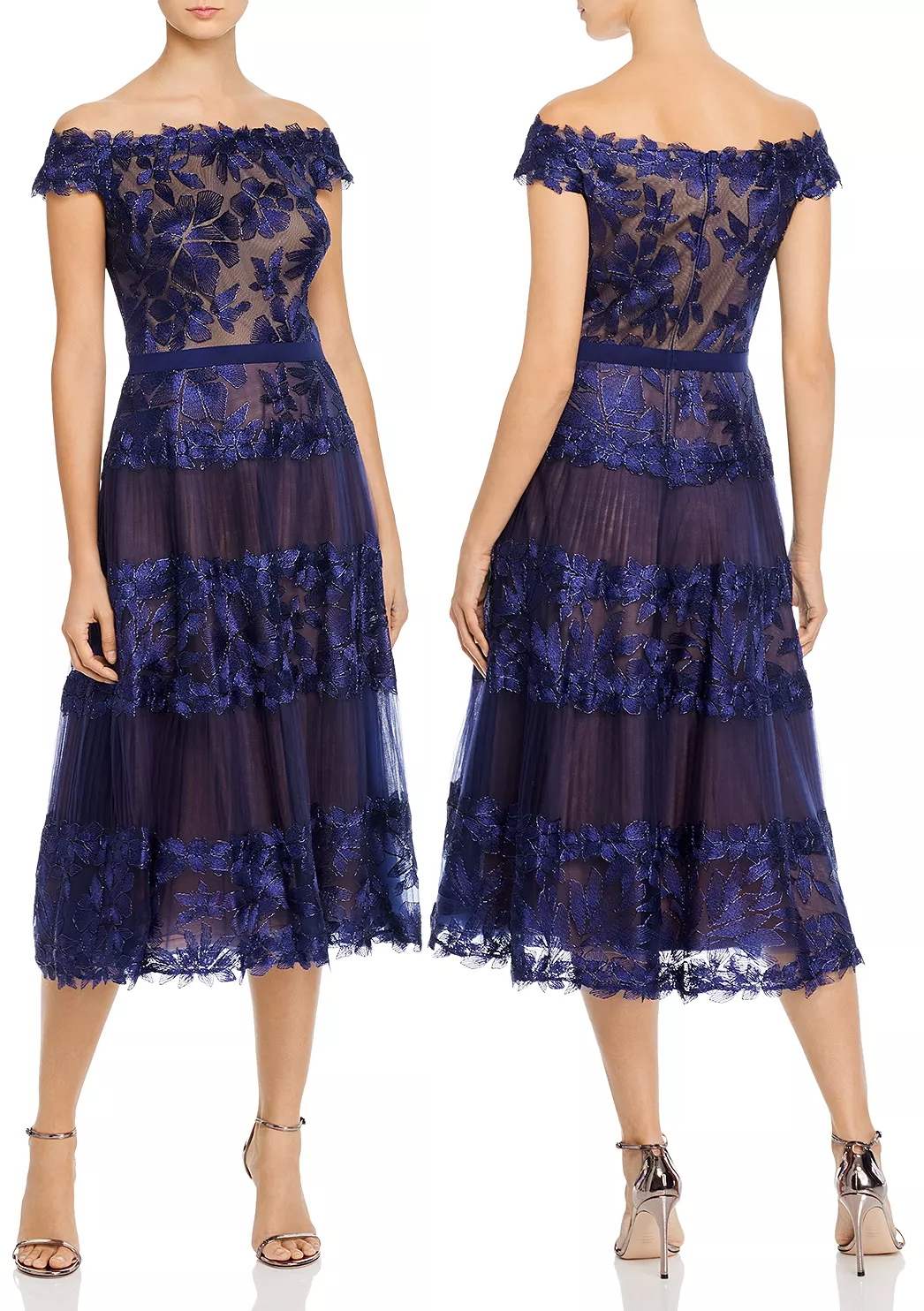 Navy Blue Lace Dress. Dress in Navy Lace 2020. Lace Dresses for Kentucky Derby 2020. What to wear for the Kentucky Derby 2020. What to wear to the Races. Outfit ideas for the Races. Floral Lace Dress 2020. Kentucky Derby Outfits