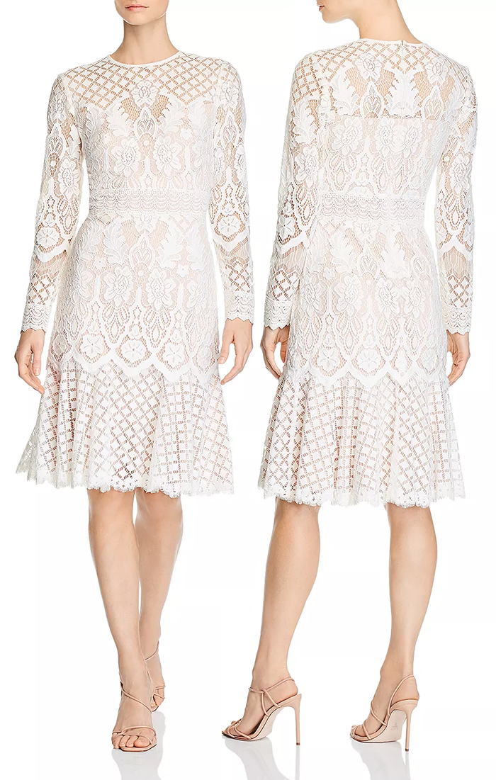 White lace dress for the Kentucky Derby 2021. What to wear for the Kentucky Derby 2021. What to wear for the Races 2021. Kentucky Derby Dresses 2021. White lace Dress for the Races. Spring Summer lace dresses 2021.