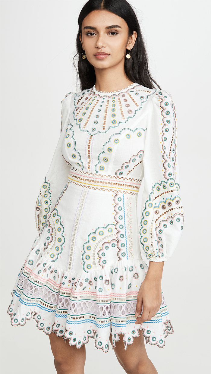 Zimmermann Peggy Dress. Kentucky Derby Dresses 2021. What to wear for the Kentucky Derby 2021. Zimmermann Dresses 2020. Kentucky Derby Outfits. Kentucky Derby Outfit Ideas 2020.