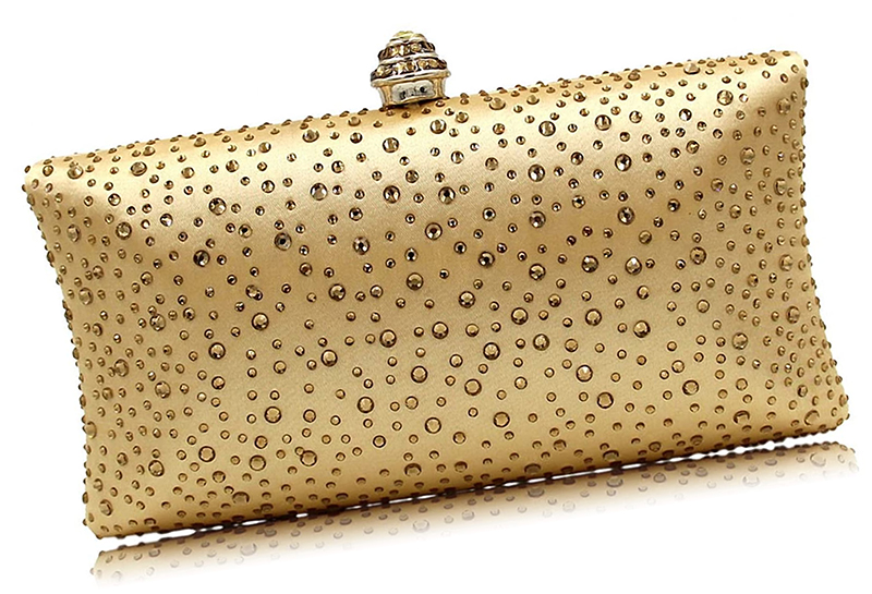 Winter Wedding Fashion 2020. Champagne Gold Clutch Bag 2020. Champagne Gold Bags with Crystals 2020. Champagne Gold Mother of the Bride Outfit Ideas 2020. Autumn Mother of the Bride Outfits 2020. Champagne Gold Mother of the Bride Bags 2020. What to wear to a Autumn wedding 2020. Outfit ideas for a Winter wedding guest 2020