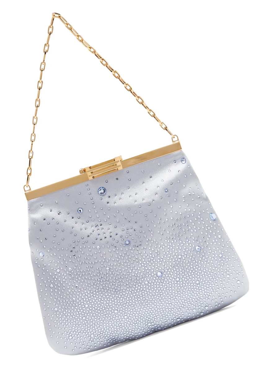 Satin Clutch Bags 2020. Light Blue Mother of the Bride Bags 2020. Luxury Clutch Bags 2020. Light Blue Mother of the Bride outfits 2020. Mother of the Bride outfit inspiration 2020. Mother of the Groom outfits 2020. Light Blue Crystal Clutch Bags 2020