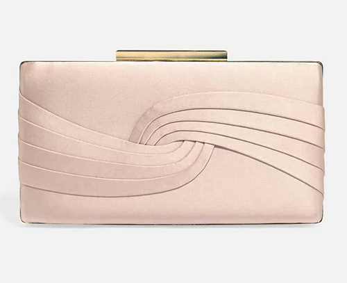 Phase Eight Blush clutch Bag. Satin Clutch Bags. Wedding Guest Outfits. Wedding Guest Outfits Ladies 2020. Blush Pink Clutch Bags 2020. Autumn Wedding Mother of the Bride outfits 2020. Wedding Guest outfit Ideas 2020. Christmas Mother of the Bride Outfits 2020. Mother of the Groom Outfits 2020.
