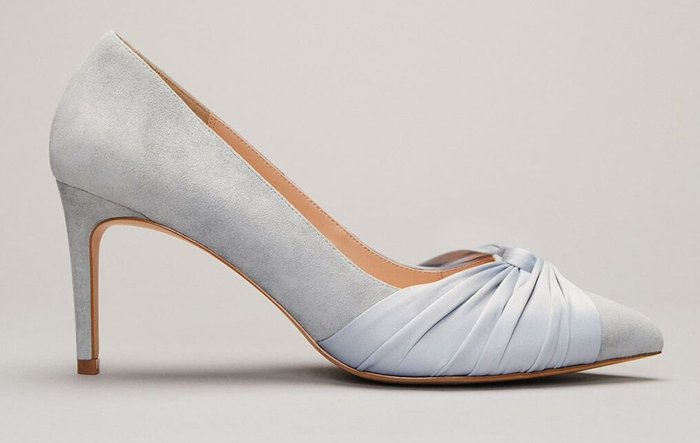 Phase Eight Pale Blue Shoes 2020. Pale Blue Mother of the Bride Shoes 2020. Mother of the Bride Shoes for Autumn wedding 2020. Mother of the Groom Shoes 2020. What to wear to a Spring wedding 2021. Best Wedding Shoes for Mother of the Bride 2021. Spring Wedding outfit ideas 2021.