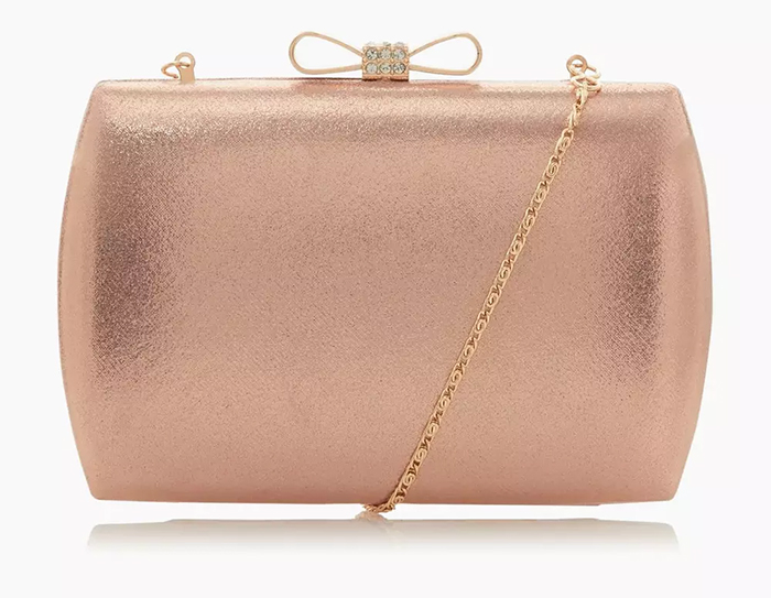Rose Gold Clutch Bag 2020. Mother of the Bride Outfits 2020. Mother of the Groom Outfits 2020. Rose Gold Mother of the Bride Clutch Bags under £50.00. Clutch Bags under £100.00. Rose Gold Outfit ideas for Mother of the Bride 2020. Winter Wedding Mother of the Bride 2020. Rose Gold Mother of the Bride Bags 2020.