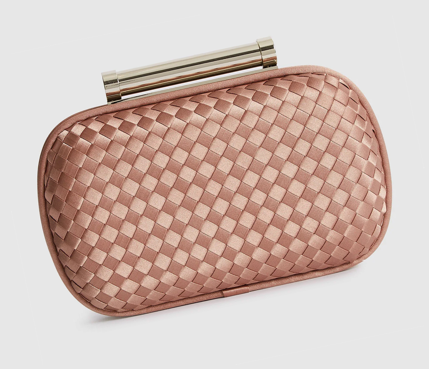 Reiss Nude Clutch Bag 2020. Rose Gold Clutch Bags 2020. Wedding Guest Outfits. Wedding Guest Outfits Ladies. Rose Gold Wedding Mother of the Bride outfits 2020. Mother of the Groom Outfits 2020