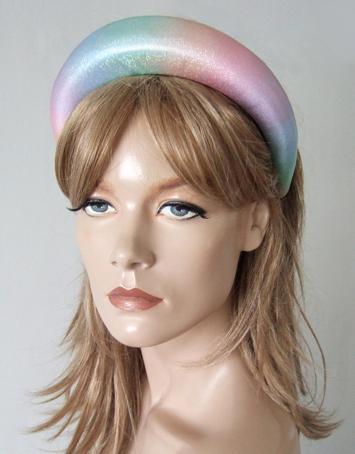 Rainbow Headbands 2020. Wear Rainbows for the NHS 2020. Rainbow Padded Headband 2020. Gifts for Teenagers 2020. Rainbow Hair Accessories 2020. Rainbow Fashion for Summer 2020. Gifts for Fashionista 2020. Rainbows to Support the NHS 2020. Rainbows for key Workers in Coronavirus. Show support for the NHS in Spring 2020.