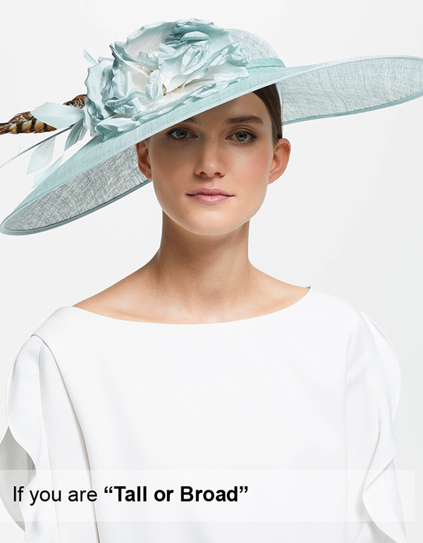 Statement Blue Hat. Floral Hats. Powder Blue Hat. Hats for the races if you are Tall. What to wear for the Kentucky Derby if you are Tall. Mother of the Bride hats for Tall People. Royal Ascot Hats for Tall People.