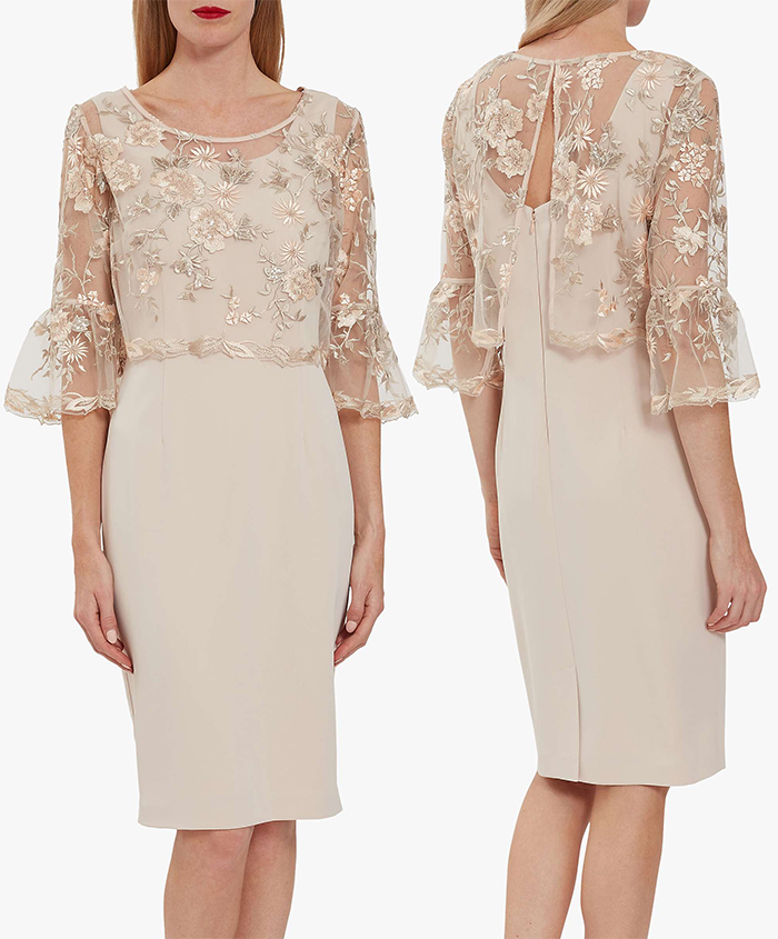 Spring Wedding Mother of the Bride outfit ideas 2021. Spring Mother of the Groom Outfits 2021. Spring Wedding Guest Outfits 2021. Nude Lace Dress 2020. Lace dress for Spring wedding 2021. Mother of the Bride Dresses 2021.