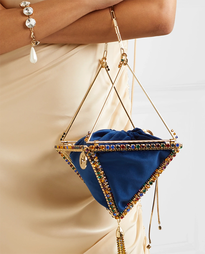 Bags to wear with a Royal Blue dress 2020. Autumn wedding guest outfit ideas 2020. Designer Handbags 2020. Bags in Pantone Classic Blue 2020. Classic Blue outfit ideas for Wedding Guest 2020. How to wear Pantone Classic Blue 2020. Designer Mother of the Bride Handbags 2020. Royal Blue Handbags 2020. Velvet Handbags for Mother of the Bride. Velvet Handbags for Winter Wedding Guest 2020.