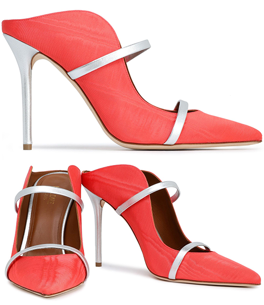 Coral Leather Shoes. Outfits with Living Coral. Pantone Colour of the Year 2019 Living Coral. How to wear Living Coral. Spring Summer 2020 Outfit Ideas. Living Coral Outfit ideas. Coral Shoes