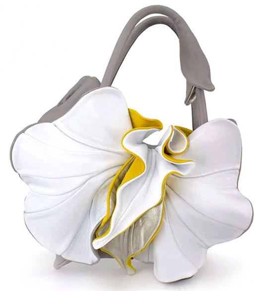 Yellow Summer Bag. What to wear for Summer Holidays. How to wear Yellow. Handbags for Holidays. Yellow Leather Bags. Floral Leather Bags. What to wear to a Spring Wedding