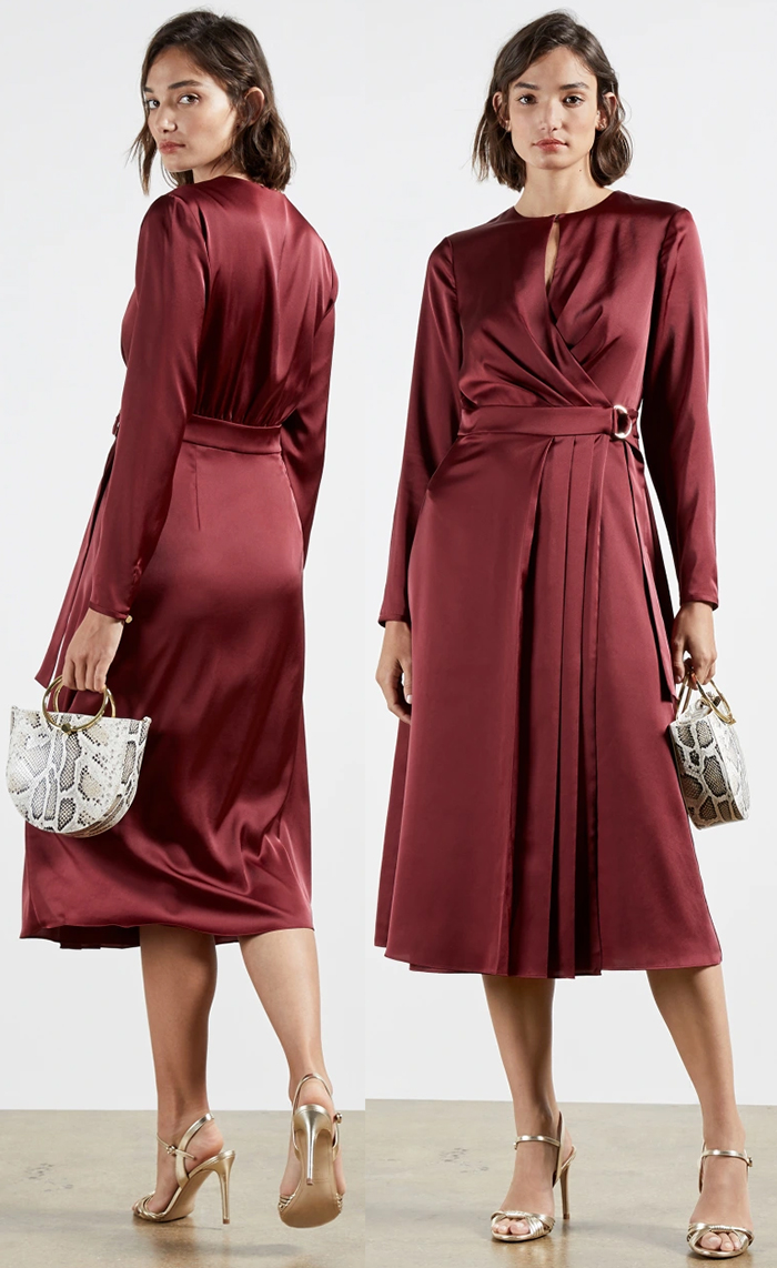 Dress for Winter Wedding Guest 2020. February wedding guest outfits 2021. What to wear to a February Wedding 2021. Winter Wedding outfit ideas 2021. What to wear for a January Wedding 2021. What to wear for a Late Winter wedding 2021.