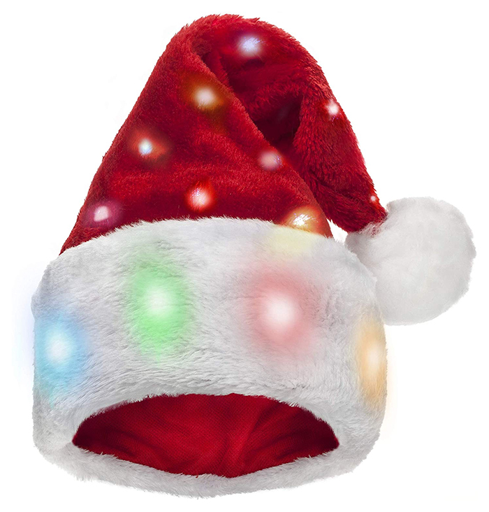 The Best Christmas Hats 2020. Santa Hats 2020. Christmas Hats to wear for Zoom Calls 2020. Christmas Hats with Lights 2020. Christmas Party Outfit ideas 2020. Christmas Hats for the Office Party 2020. Christmas Jumper Day 2020. Best Christmas outfits. Secret Santa Gifts 2020.